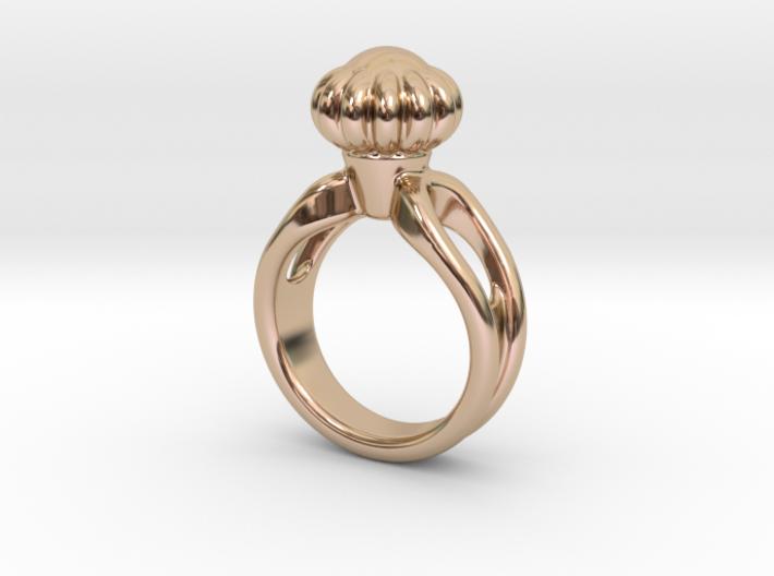 Ring Beautiful 21 - Italian Size 21 3d printed