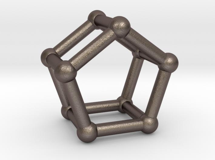 0440 Pentagonal Prism (a=1cm) #002 3d printed