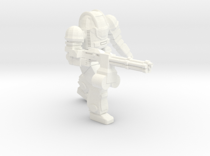 Ogre MKII Heavy Rotary Cannon 3d printed