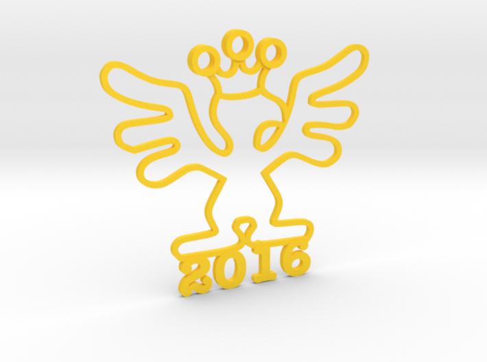 2016 Kinetic Bribe (Large) 3d printed