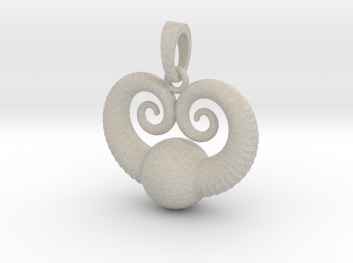 Sea World Pendant 3d printed