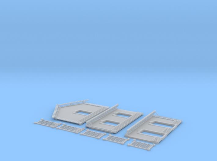 NGPLM55 Modular PLM train station 3d printed
