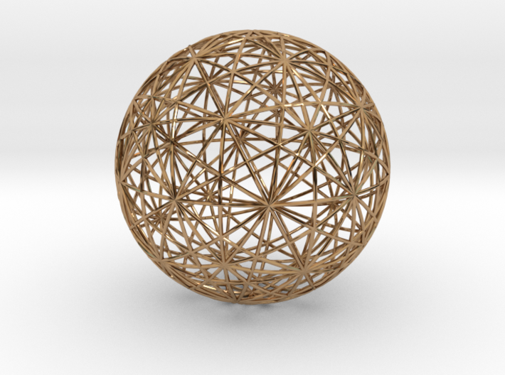 Symmetry sphere for icosahedron 3d printed