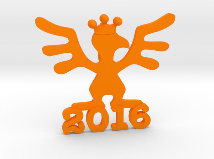 2016 Kinetic Bribe (Small) V2 3d printed