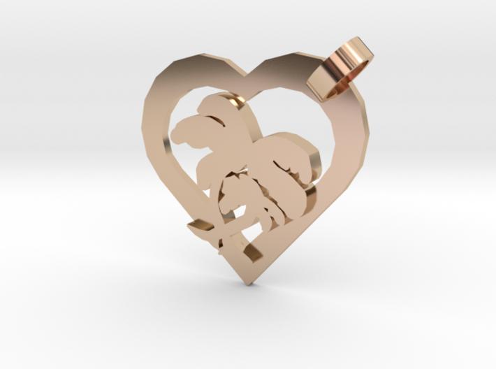 Valentine Palm 3d printed