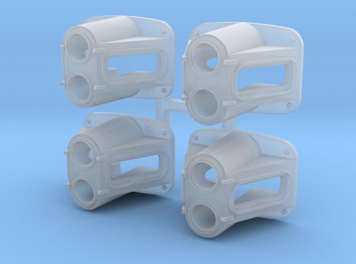 EMD SW Headlight O Scale X4 3d printed
