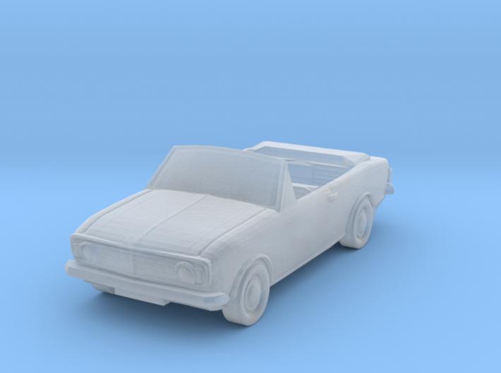 Crayford Ford Cortina 1600 GT Mk II (1:300 Scale) 3d printed