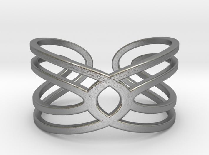 Geometri-K Waves Size 8 (Medium large) 3d printed