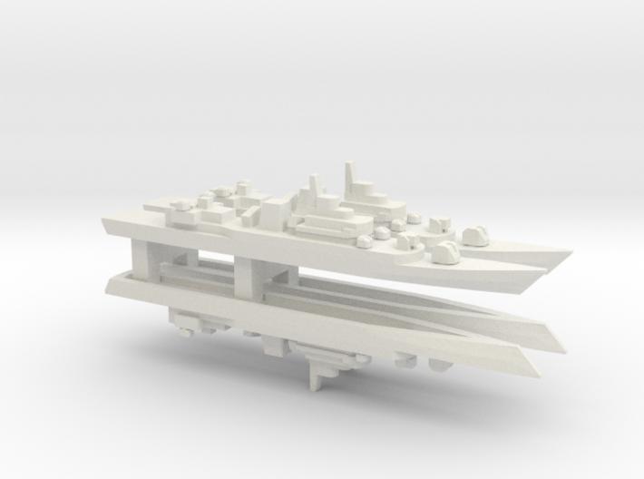 PLA[N] Type 053H3 Frigate x 4, 1/2400 3d printed