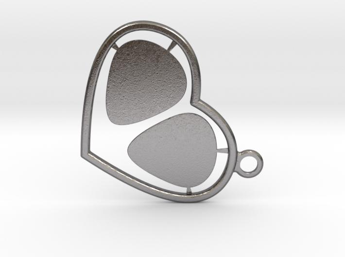 GPick Heart key accessory 3d printed