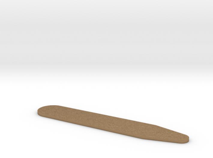 Customizable collar stay 3d printed