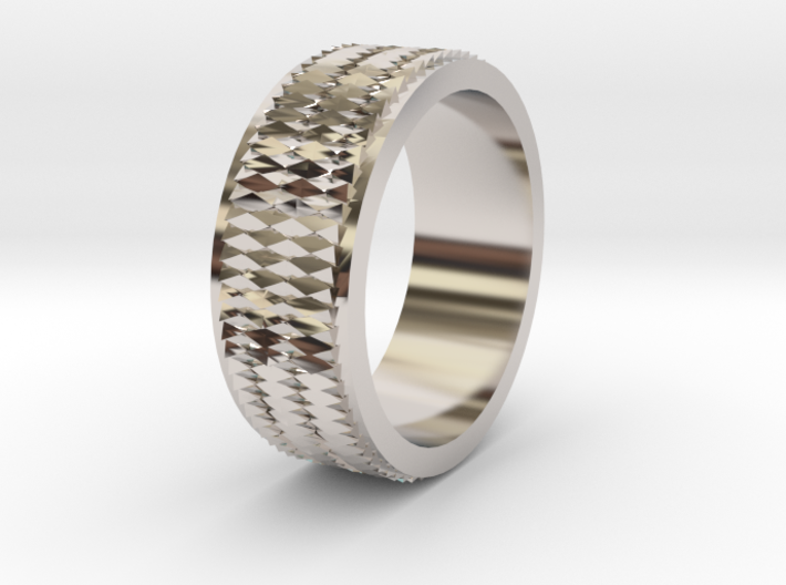 Pattern Ring Size 6 3d printed
