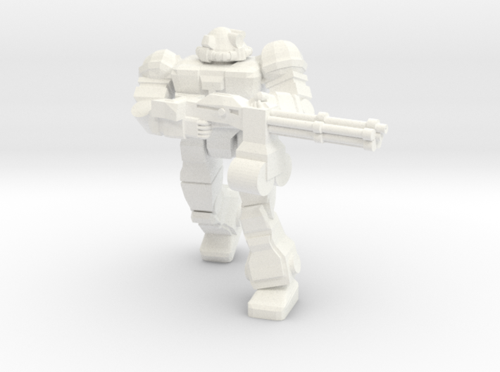 Raider (Viking MKII) With Rotary Cannon 3d printed