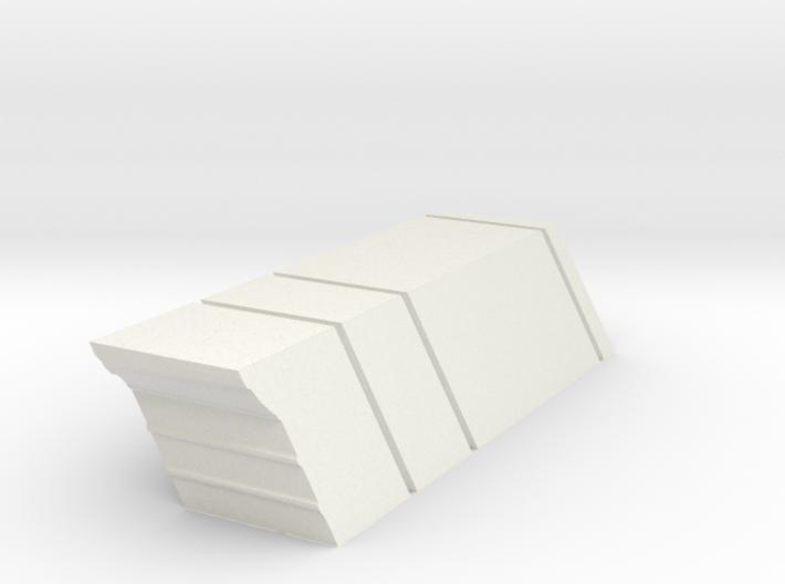 Baseboard, Repair Bay, RH, Short 72.BN.DN.BS.RR 3d printed
