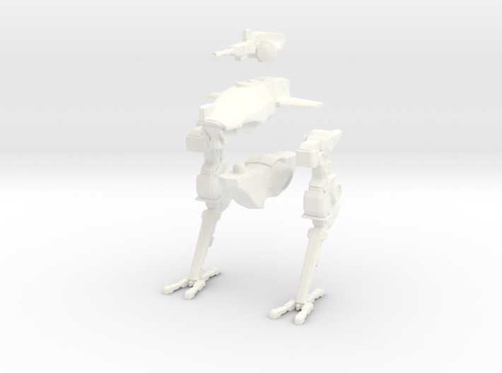 Dorgasb mech - biped variant. 15mm (1/100) 3d printed