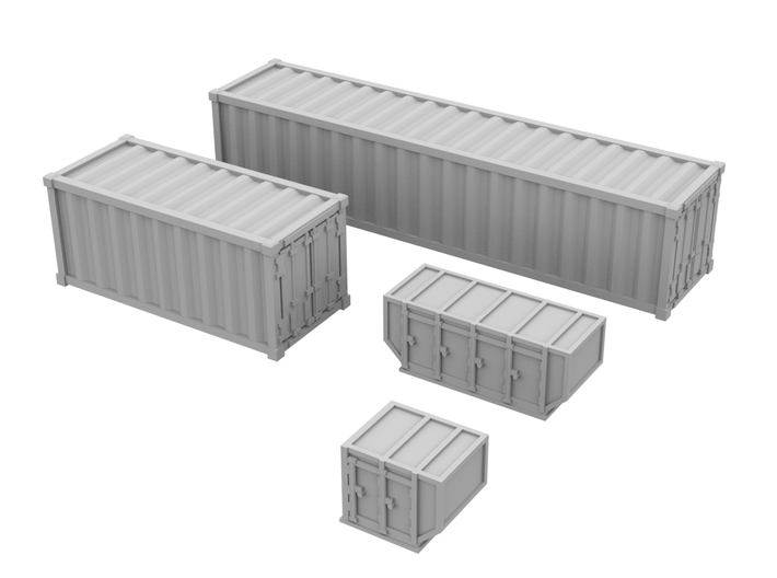 1:200_Containers [x40][A] 3d printed