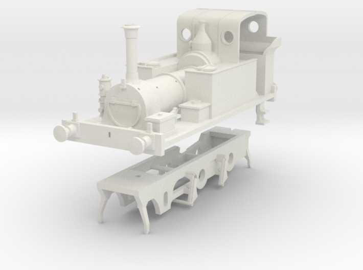 PLA Millwall Extension Railway 2. 4. 0t kit 3d printed