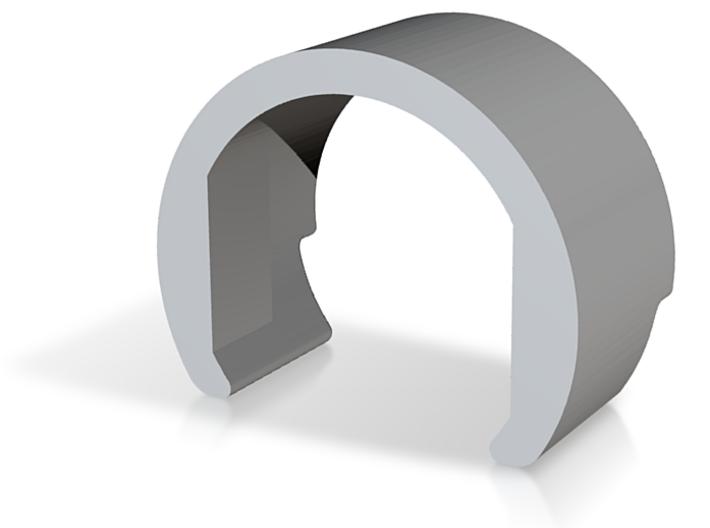Hopup Clip CUSTOMIZABLE 3d printed