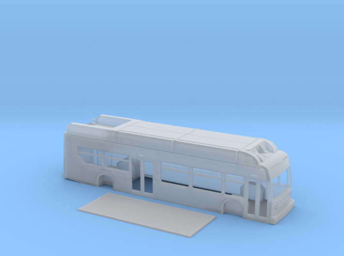 N scale 1:160 New Flyer Xcelsior CNG (2) 3d printed