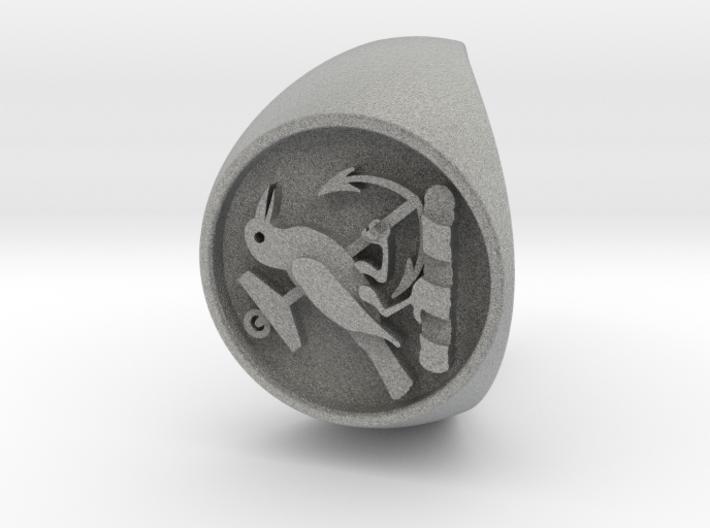 Custom Signet Ring 21 3d printed