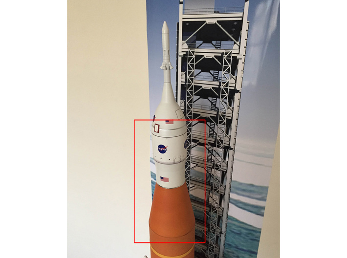 Orion SLS Adapter 1:72 3d printed