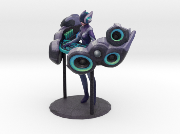 DJ Kinetic Sona 3d printed