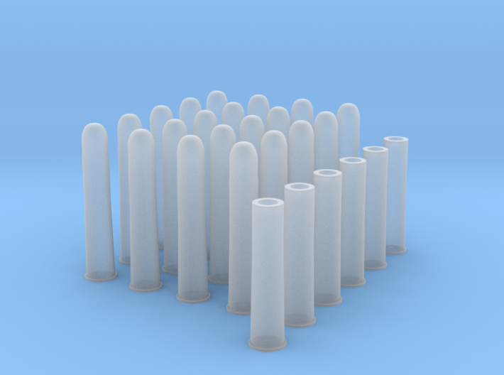 1:6 20 Rds 50-90 Sharps 6 Casings 3d printed