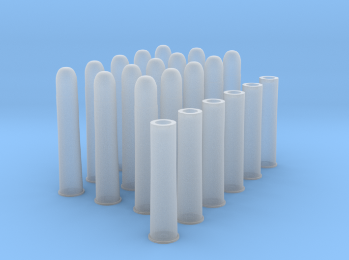 1:6 15 Rds 50-90 Sharps 6 Casings 3d printed