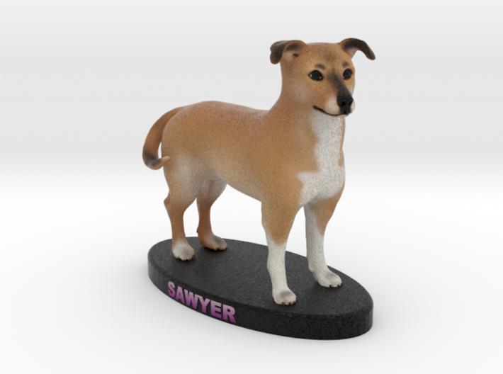 Custom Dog Figurine - Sawyer 3d printed