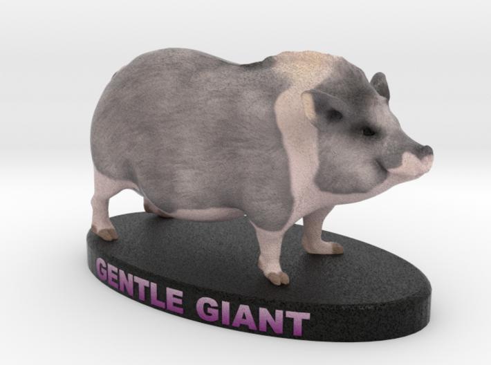 Customer Pet Figurine - Jozef 3d printed