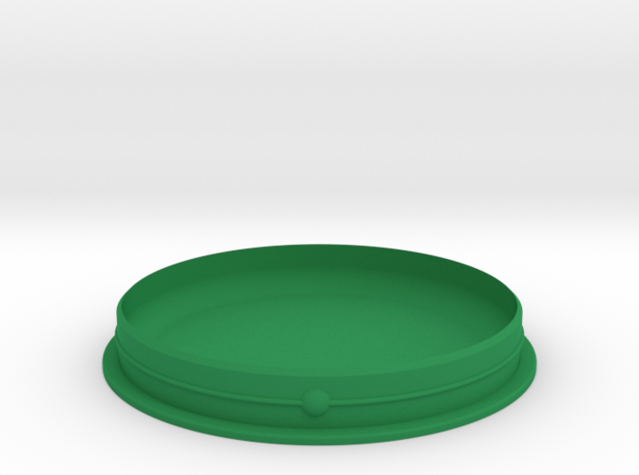 The RepairWare Lid 3d printed Of course it's green!
