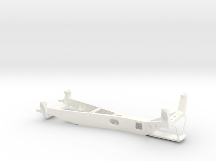 1/43 chassis Toyota 2000 GT 3d printed