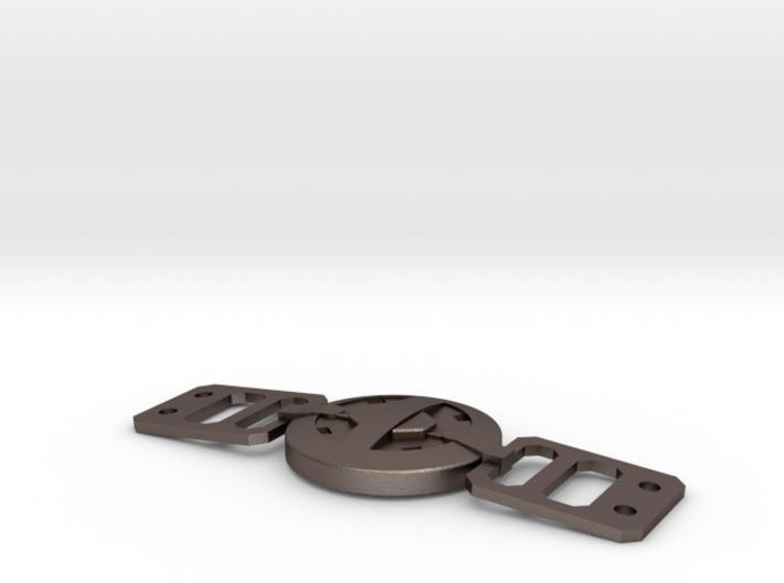 Deadpool Movie Belt Buckle 80mm (revised 2-05-16) 3d printed