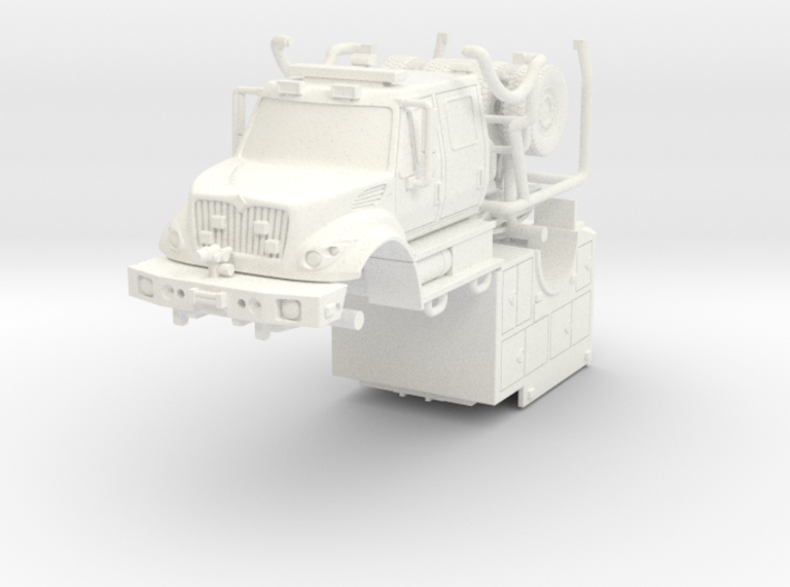 1/64 KME Brush Fire Truck FDNY 3d printed