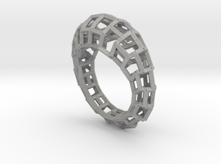 Ring Square3 3d printed