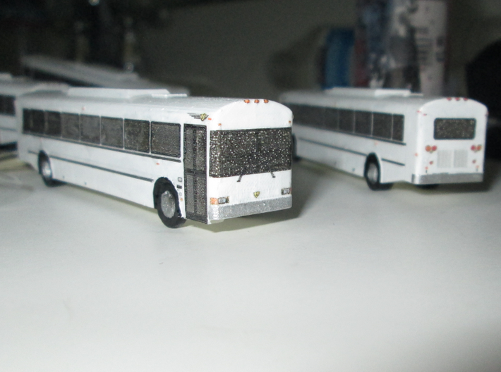 n scale school bus 2015 international/ic re 300 3d printed COACH VERSION SHOWN