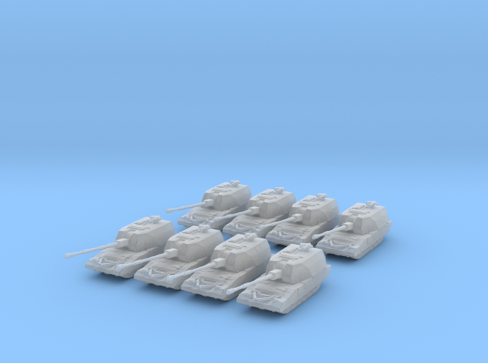 Koalitsiya 2S35 Battery 1:700 3d printed
