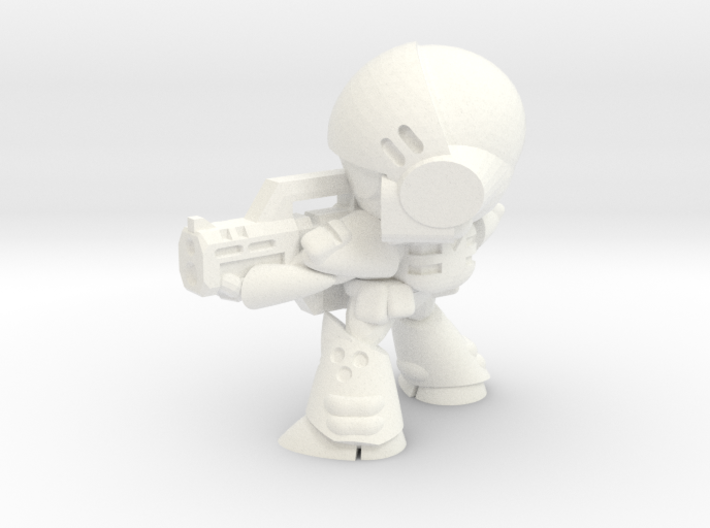 MERC SOLDIER-005 (AIMING) 3d printed