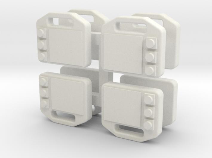 Atemschutzueberwachungstafel 3d printed