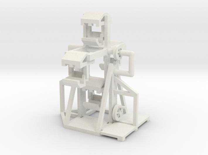 Mittelalter Riesenrad - 1:220 (Z scale) 3d printed