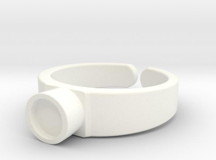 Swarovski Ring for Children 3d printed