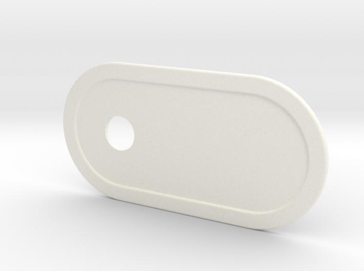 Custom Key Holder Nameplate Small 3d printed