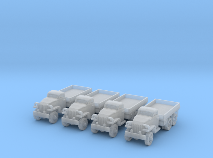1/220 Studebaker US-6 trucks 3d printed