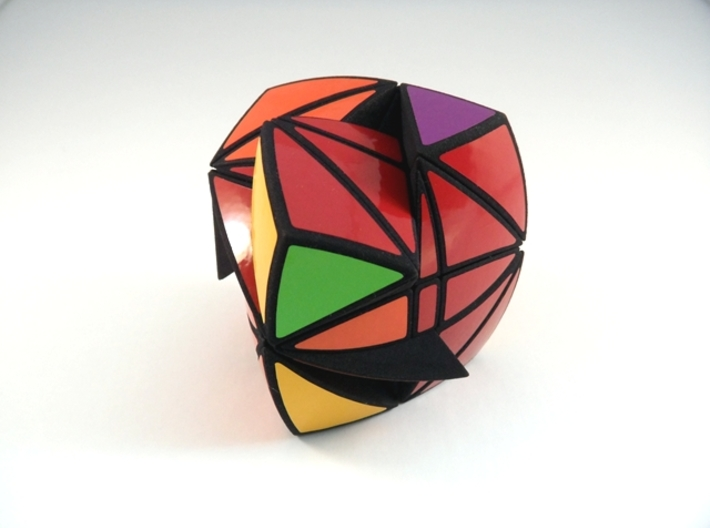 Tricopter 9 Pillow Puzzle 3d printed Multiple Turns