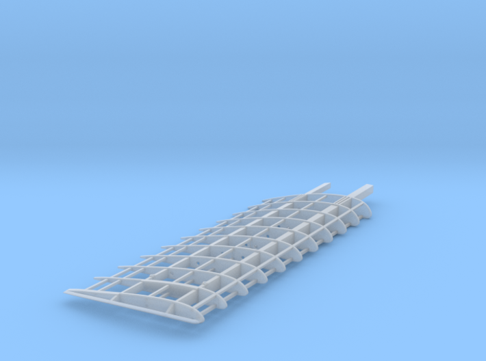 Fokker DVII 1/32 Lower Wing Right 3d printed