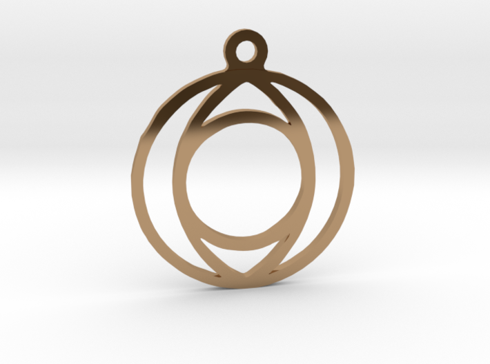 One. - Tribute to the Philosophy of Number 3d printed