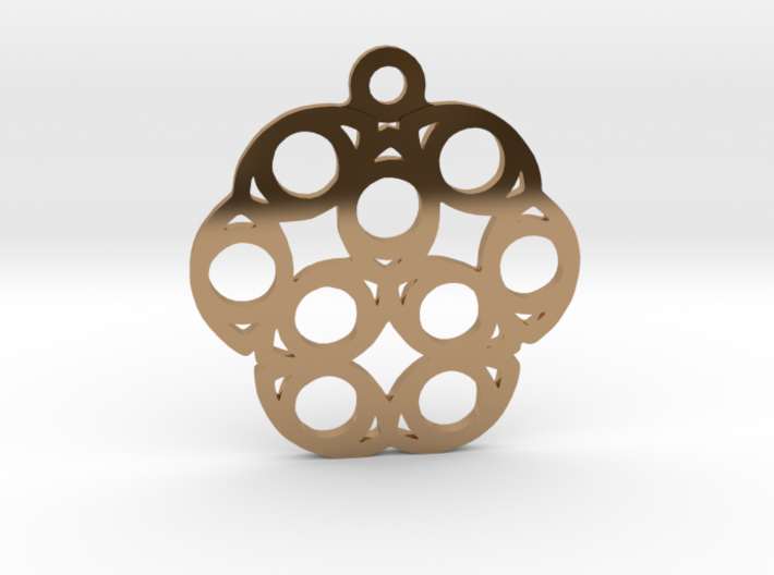 Nine. - Tribute to the Philosophy of Number 3d printed