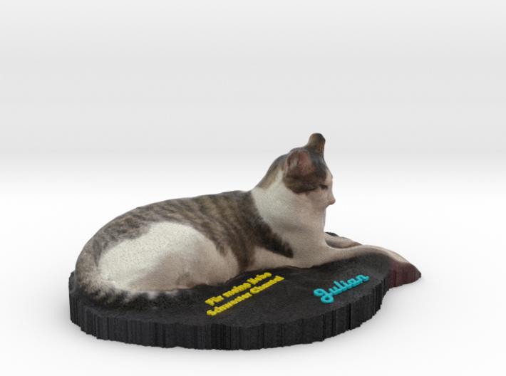 Realistic Cat Coccolino 3d printed
