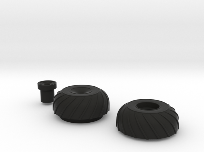 Amphicat wheels left - Need three of these 3d printed