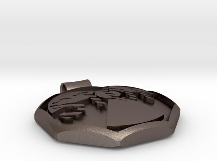 Siggnatur Jewellery Anhänger stop atom 3d printed